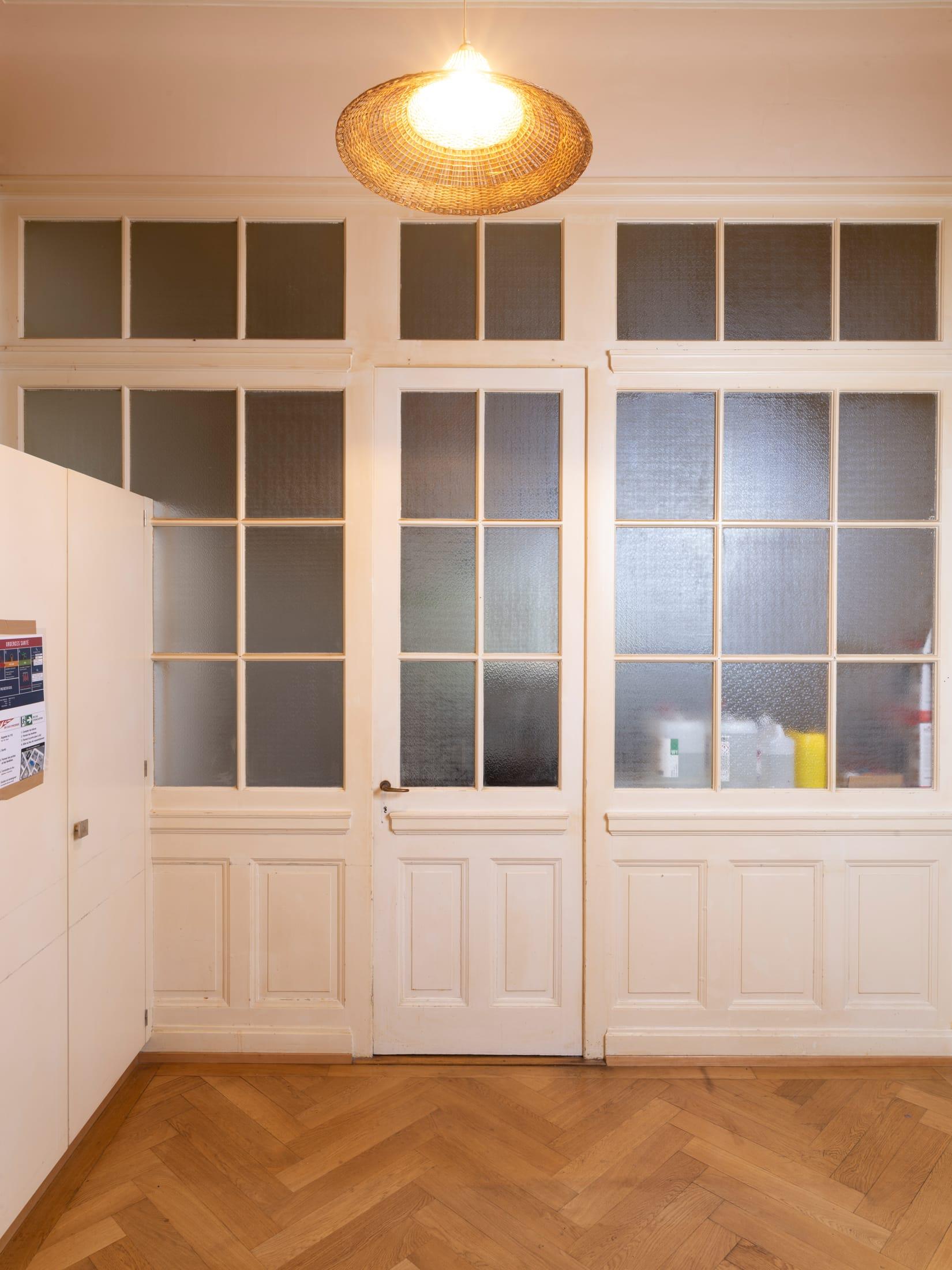 porte-fenêtre fermée