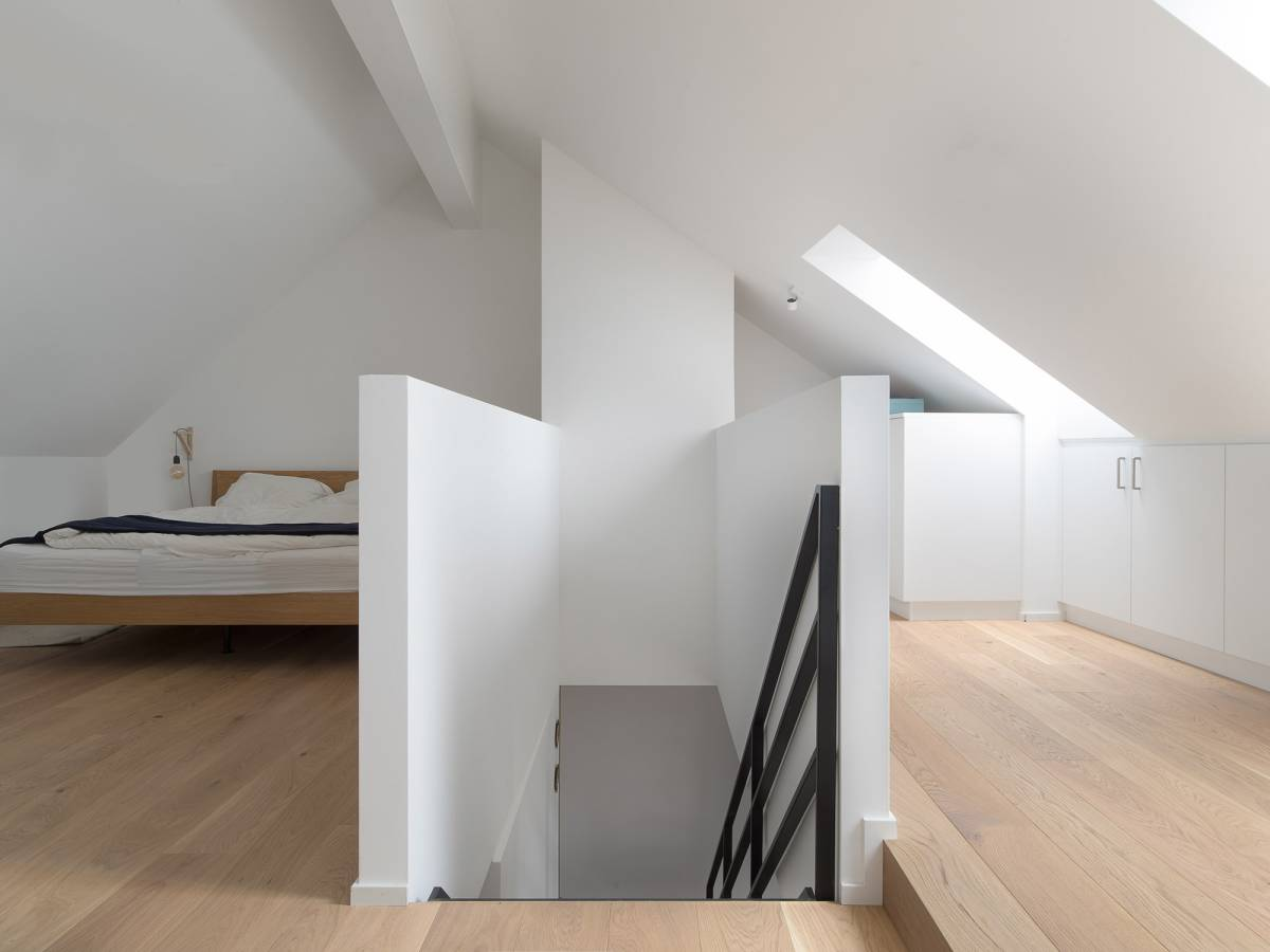chambre à Lausanne pour mettre en avant la photo d'architecture
