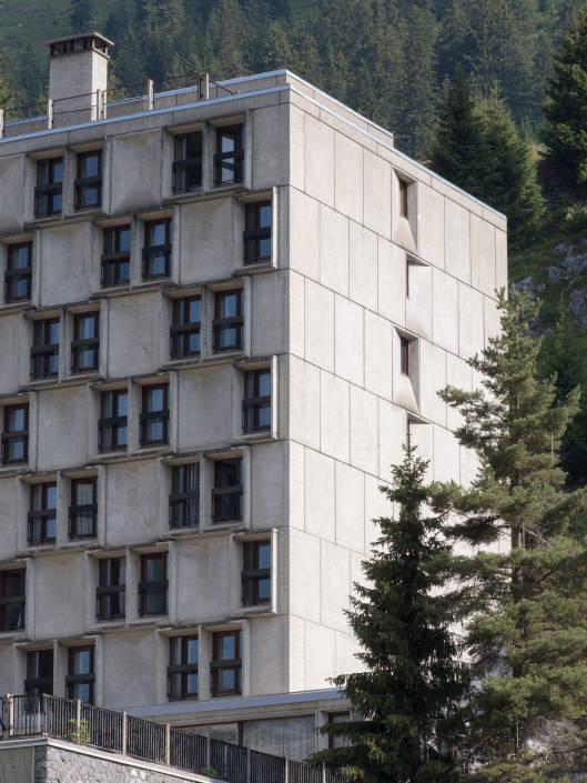façade à Flaine