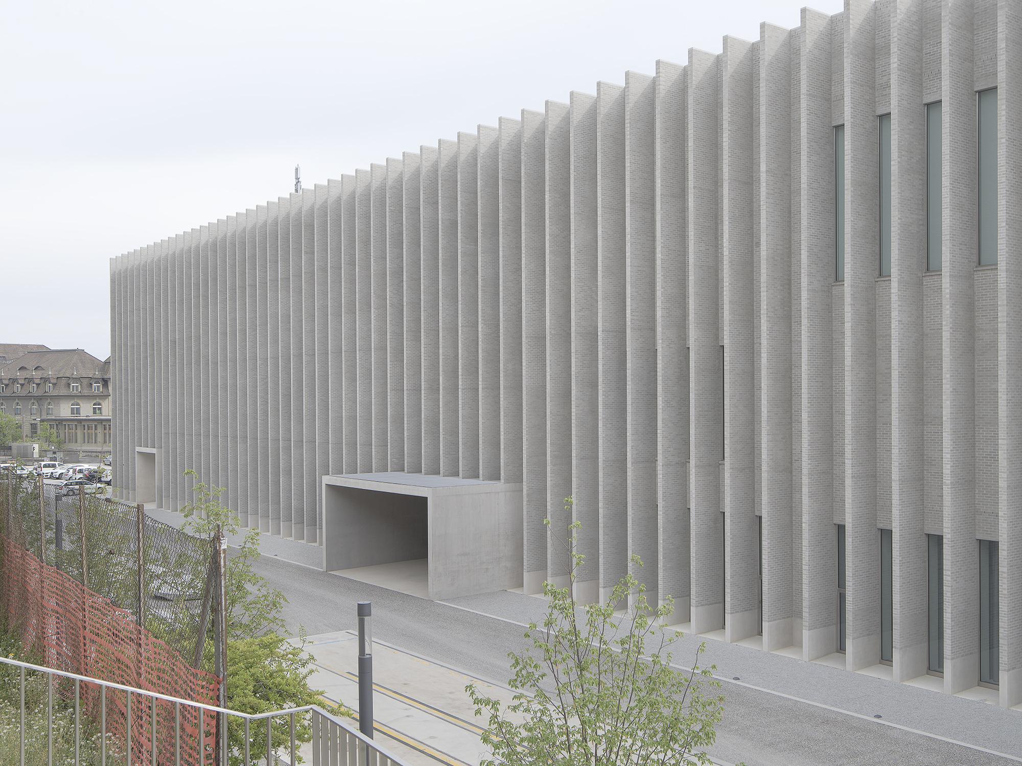 entrée du musée des Beaux arts de Lausanne