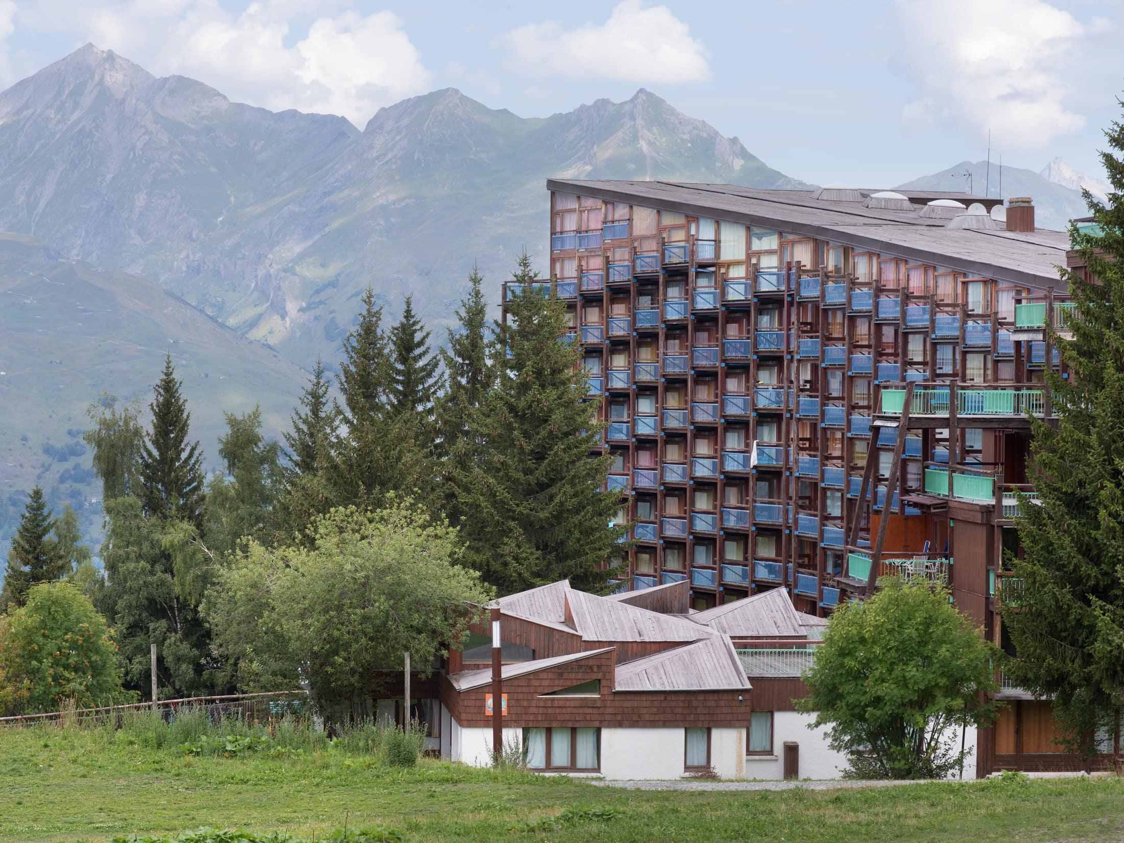 bâtiment collectif à Arcs 1800