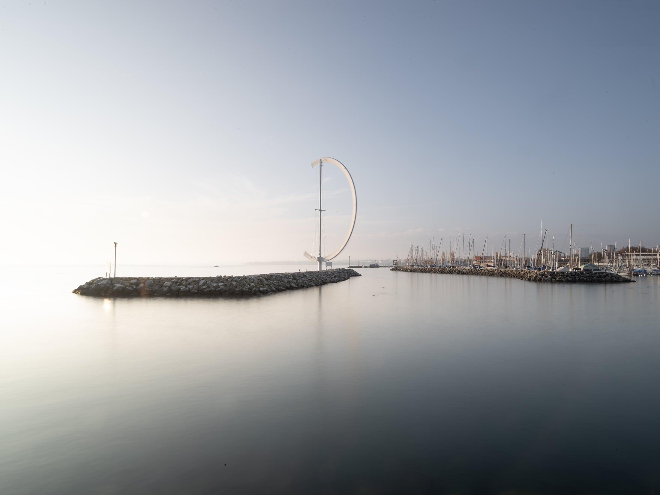 arche au port de la navigation à Lausanne