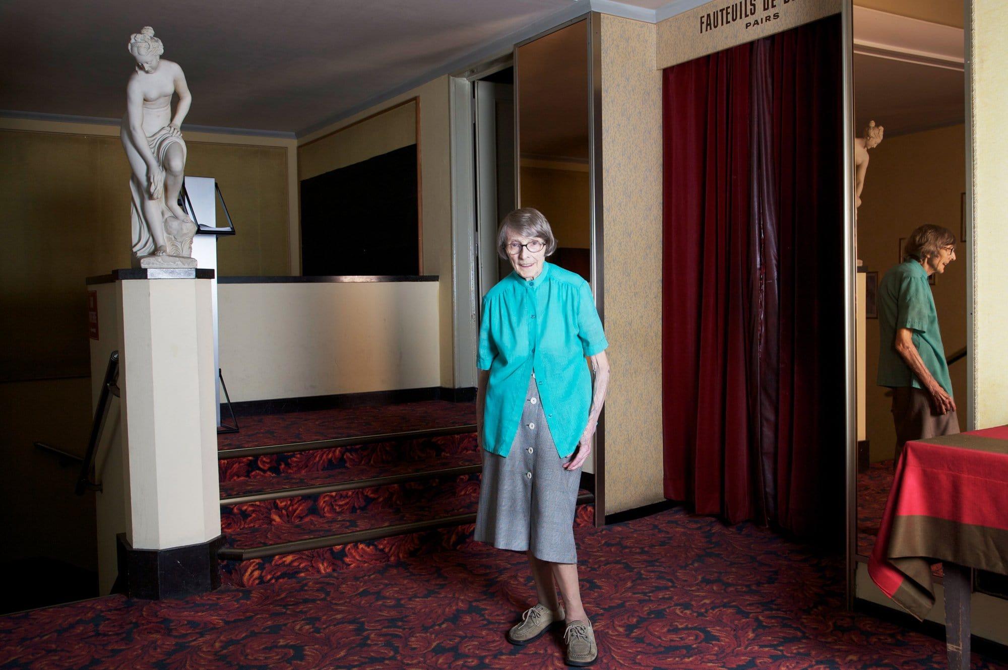Lucienne Schnegg, cinéma Capitole Lausanne