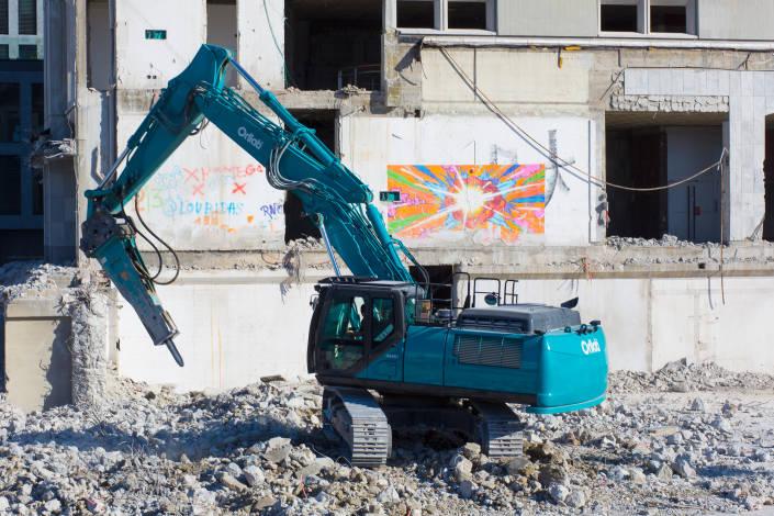 véhicule de chantier