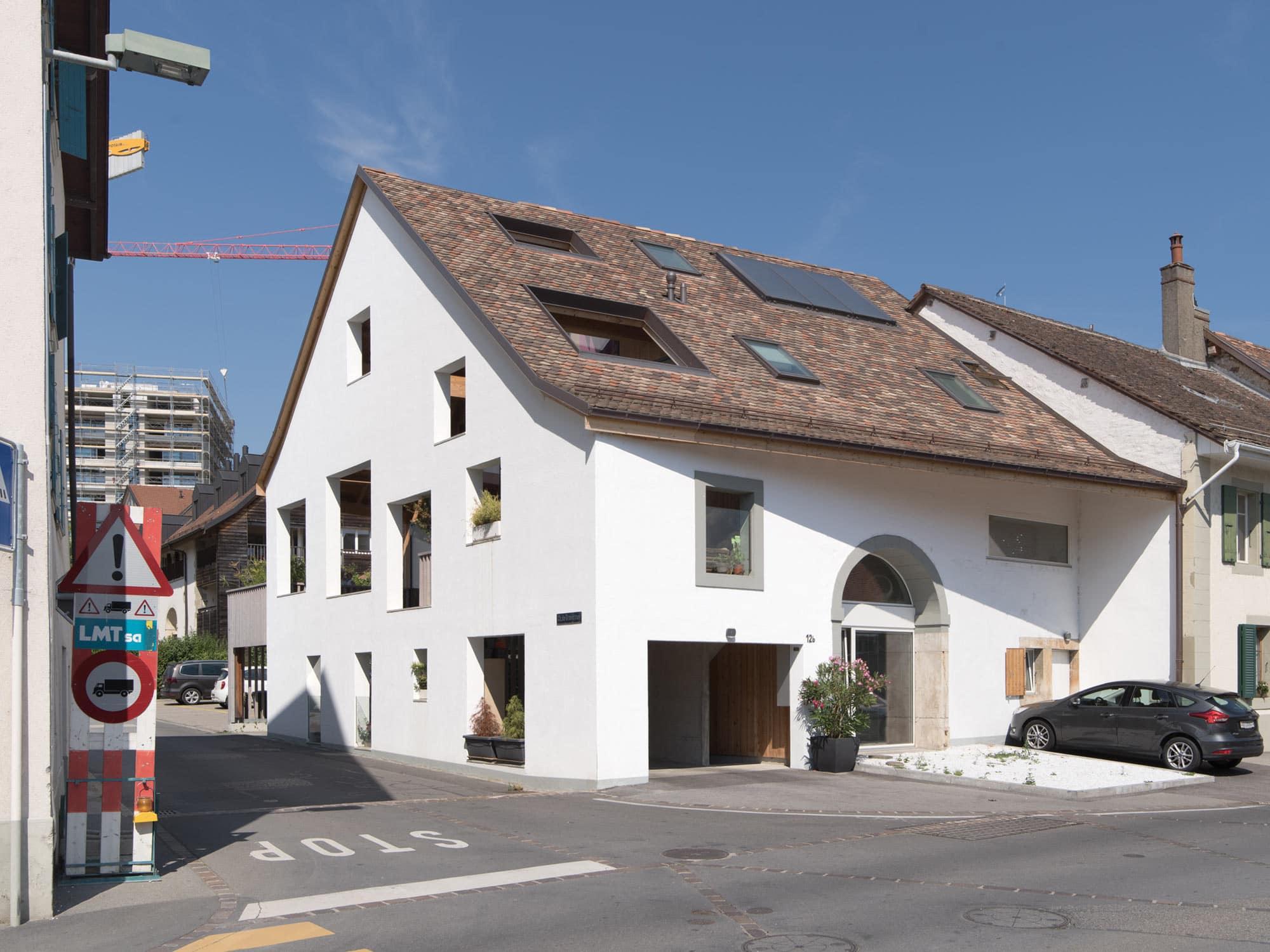 architecture villageoise