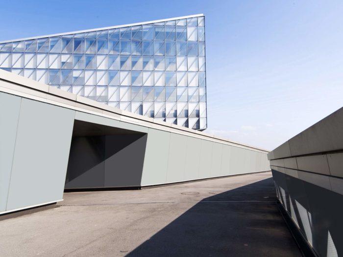 composition architecturale à Lausanne pour mettre en avant la photo d'architecture et d'entreprise du photographe