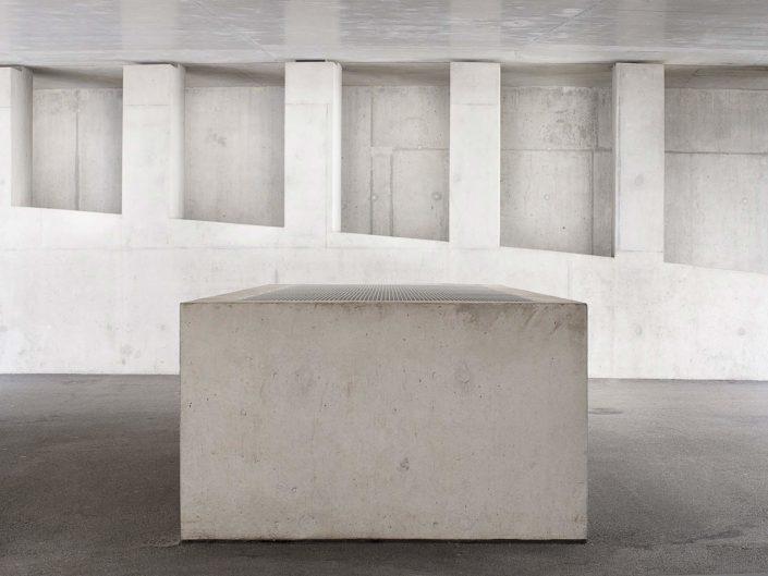 composition architecturale de béton