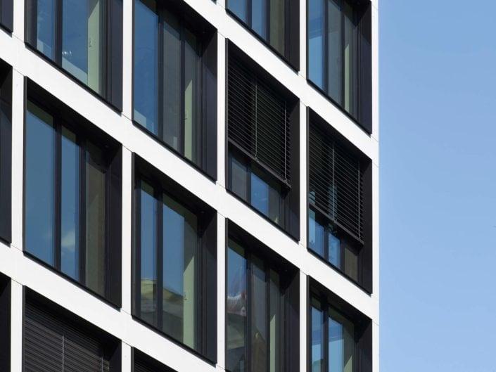 éléments d'architecture sur une façade