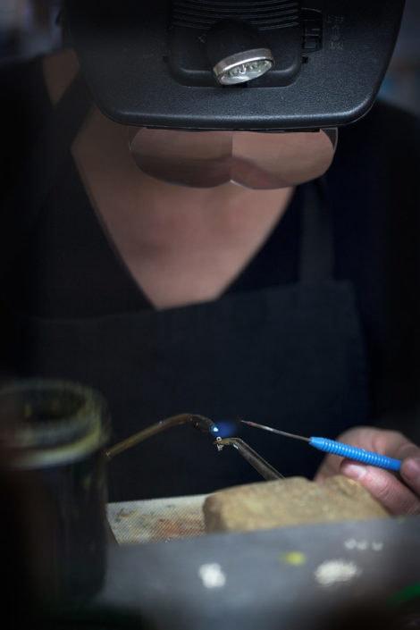 chalumeau et lunettes