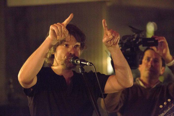 François Vé lors d'un concert