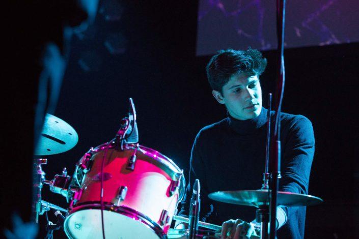 le batteur de Submaryne en concert