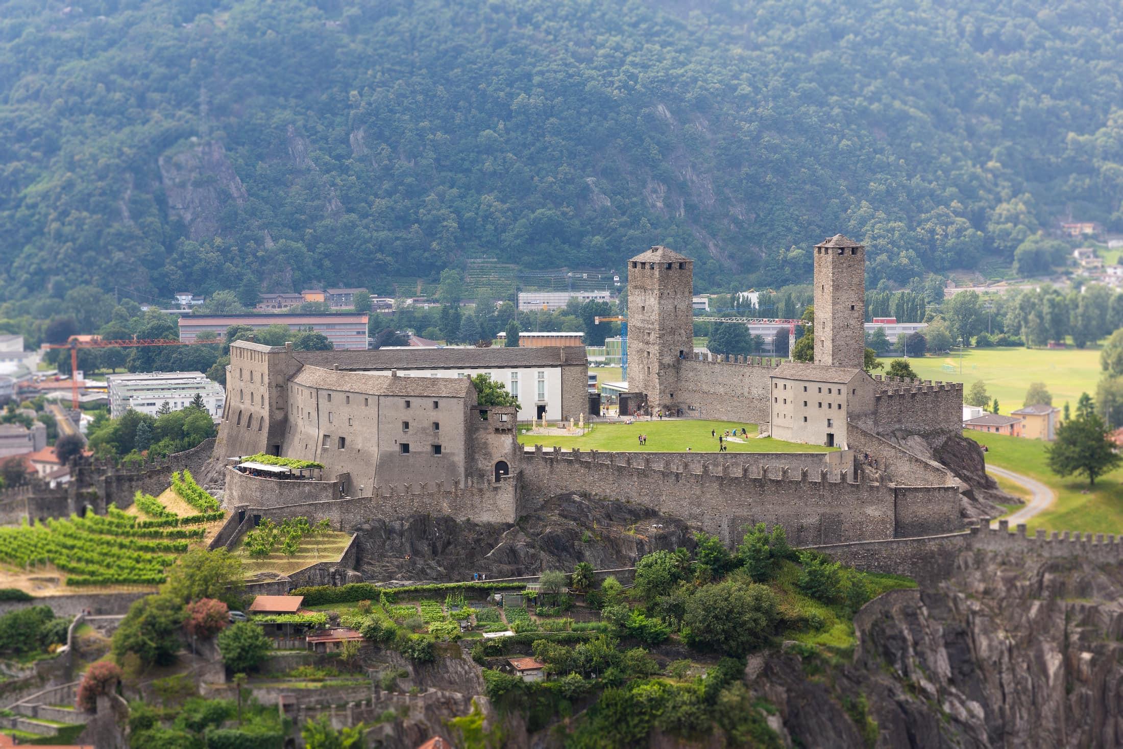 le château de Bellinzone
