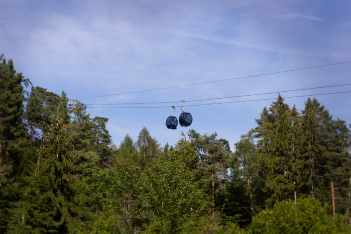 télécabines au mont Wasserfallen