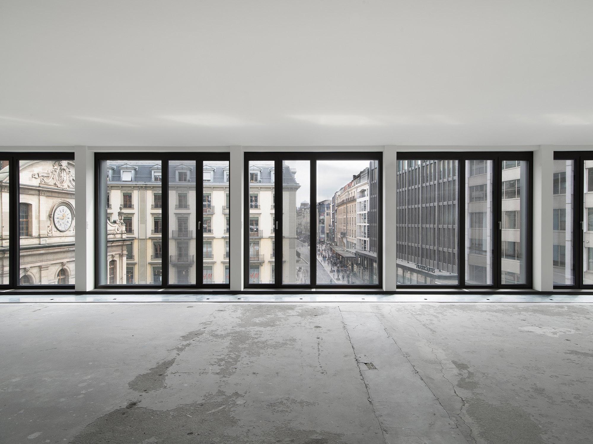 bureaux en construction pour un bureau d'architecture