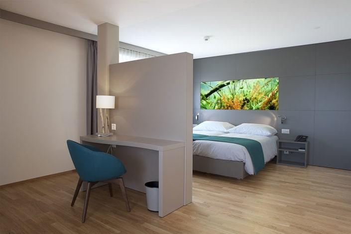 architecture de chambre d'hôtel