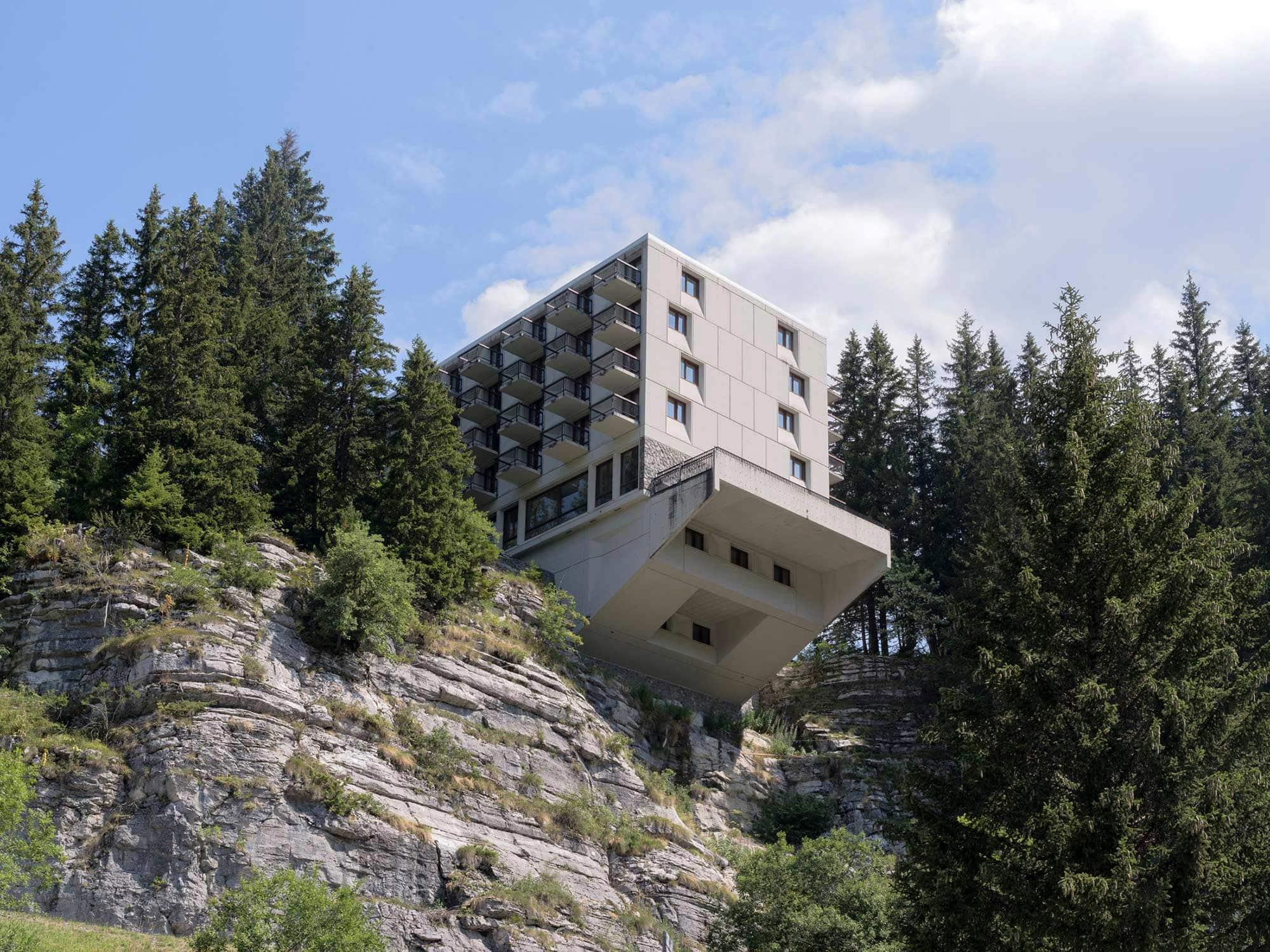 extrait de la revue d'architecture suisse werk, wohnen+bauen