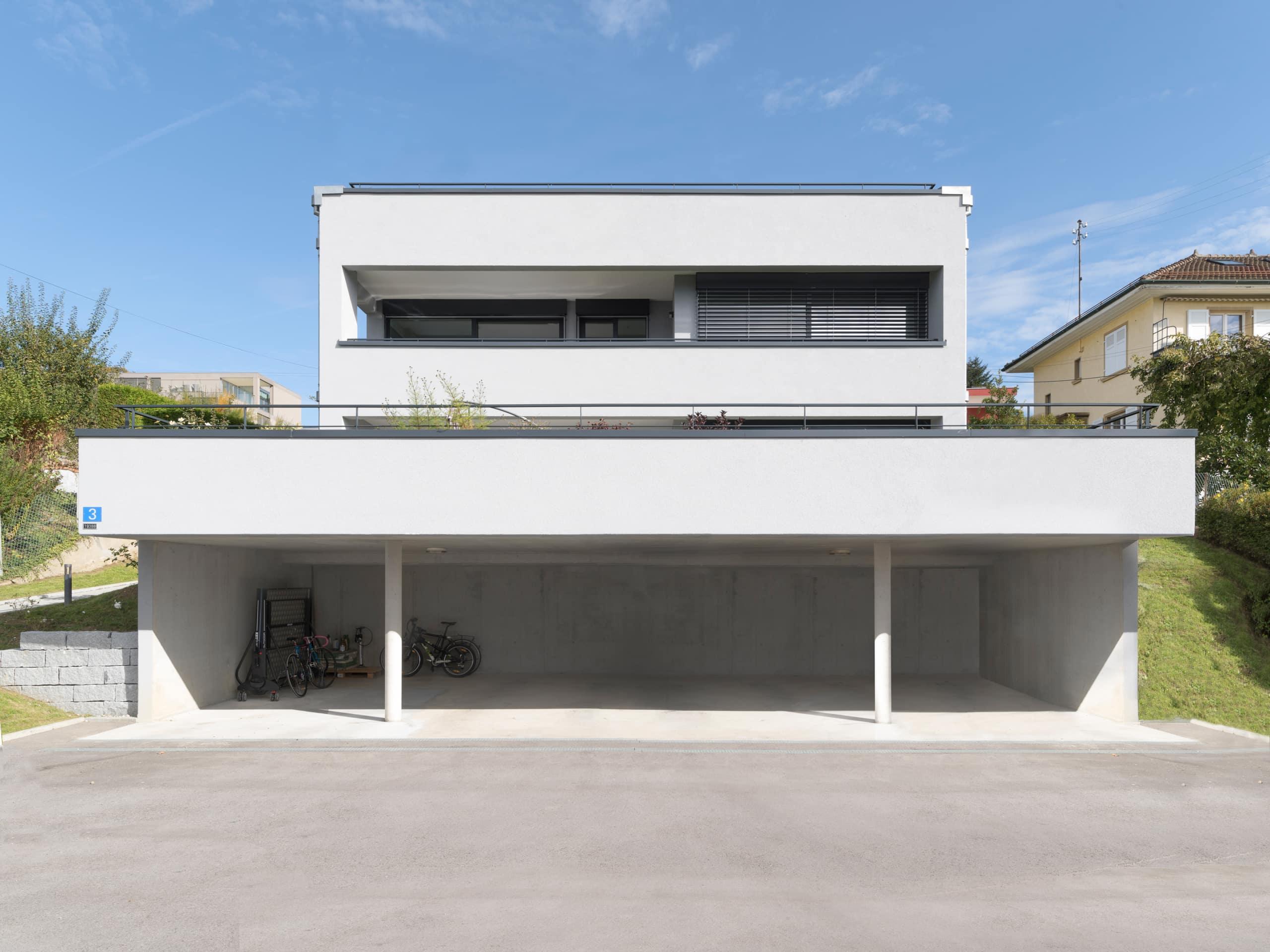 maison avec parling couvert